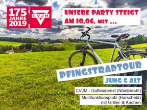 175 Jahre CVJM - Pfingstradtour @ Evangelische Kirche Nümbrecht